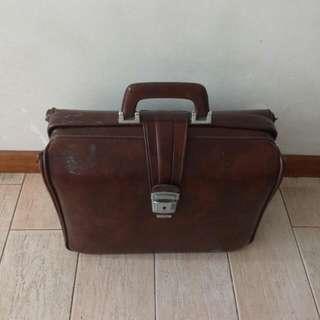 Old Pvc Suitcase