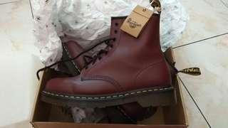 boot dr. Martens docmart 43 1460 cherry red