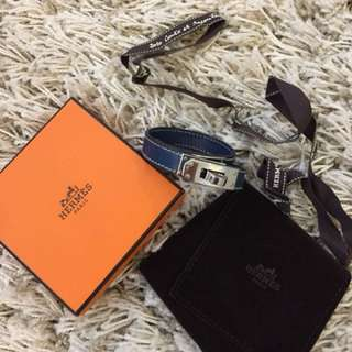 Authentic Hermes Kelly Double Tour Bracelet