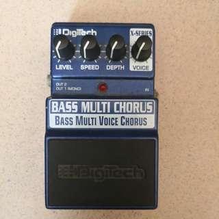 Bass Chorus Pedal: Digitech Bass Multi Chorus