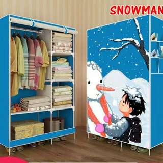 Lemari portable snowman