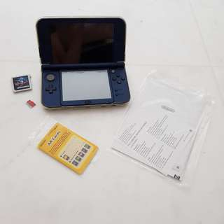 Navy New Nintendo 3DS XL