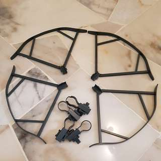 Mavic pro propeller guard