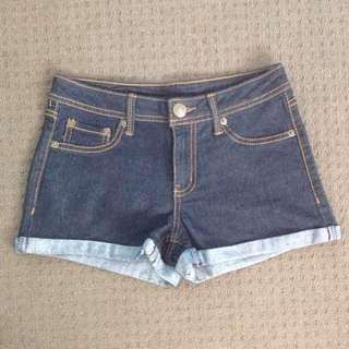 Kmart Brand Dark Wash Denim Shorts