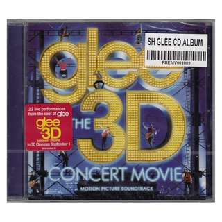 <Glee The 3D Concert Movie - Motion Picture Soundtrack> 2011 CD (Brand New)