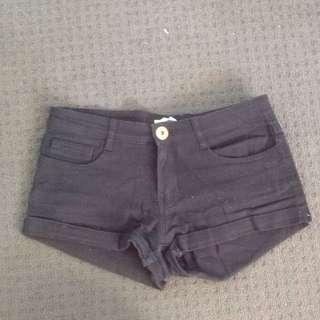 Valleygirl Brand Black Shorts