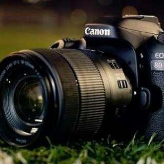 KREDIT Kamera Canon 80D New Ready