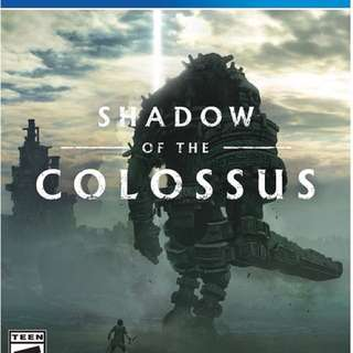 [BN] PS4 Shadow of the Colossus Remake