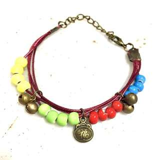 Fu lucky chinese bracelet