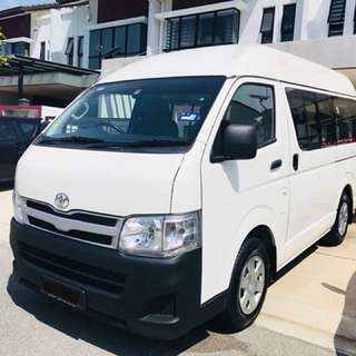 Hiace 2.5 Manual For Rent