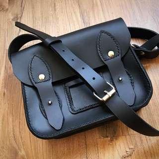 Handmade Leather Satchel (mini)
