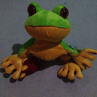 Frog Stuffed Toy