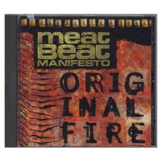 Meat Beat Manifesto: <Original Fire> 1997 CD (Brand New)