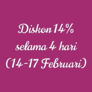 Diskon 14%