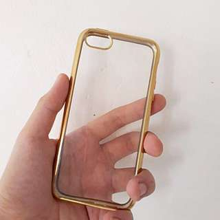 Gold Sided Jelly 5s Case