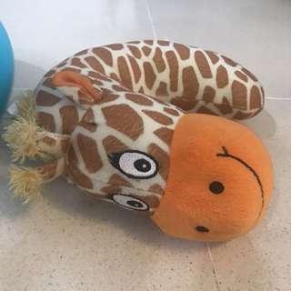 Travel Pillow Giraffe