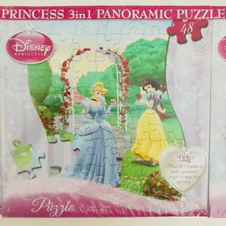 [BN] Disney Princess Panoramic Jigsaw Puzzle