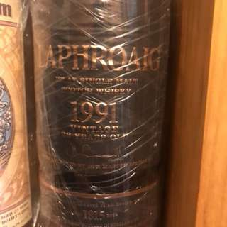 Laphroaig 1991 Vintage 23 years old (No Box)