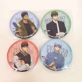 Kuroko no Basket casual mode gacha badges 🌻