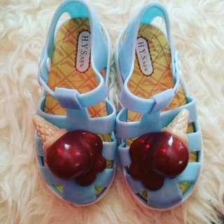 sepatu jelly aanak