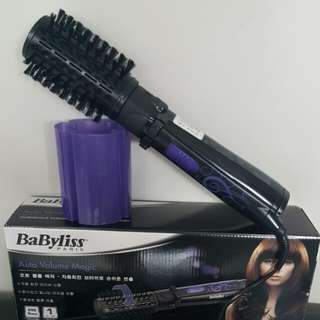 Babybliss auto magic volume curler rotating dryer