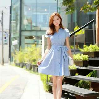 Korean Denim Dress ❤