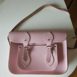 Cambridge satchel classic pink