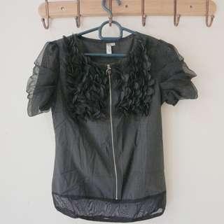 baju hitam bagus awet jarang dipakai bisa untuk pesta