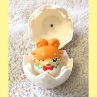"Himitsu no Cocotama - ""Colored Pencil God"" Luckytama Egg Toy"