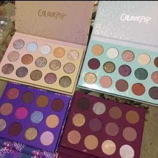 Colourpop AUTHENTIC EYESHADOW PALETTE- ALL I SEE IS MAGIC IS OOS
