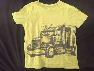 Old Navy Trucker Graphic Tee 3t Original