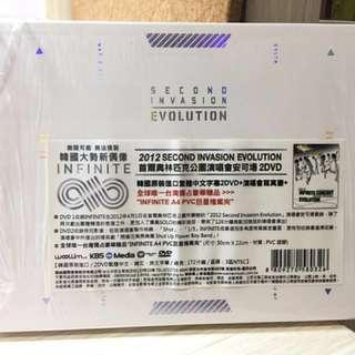 🚚 2012 INFINTE CONCERT Second Invasion/ Evolution