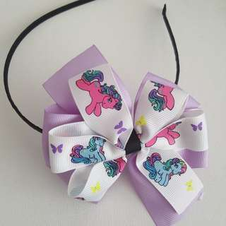 Headband Double Stack Bows
