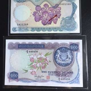 Orchid 100 & 50 Dollars - Fixed price @ 285