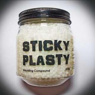 Sticky Plasty (plastimake polymorph instamorph cosplay)