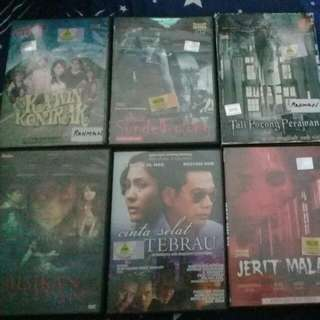 Dvd movie English,malay and Thailand