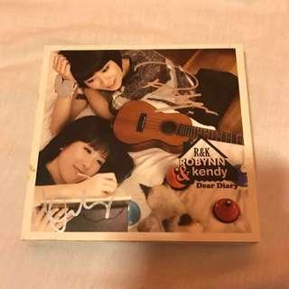 Robynn and Kendy Dear Diary CD with Autograph 親筆簽名