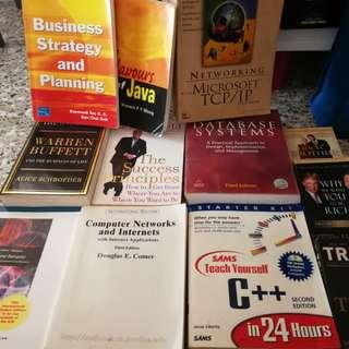 12 Books take all only $10 trump kiyosaki warren buffet