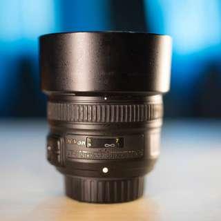 WTS Nikon 50mm 1.8G
