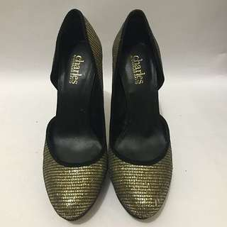 HEELS CHARLES BY CHARLES DAVID AUTHENTIC