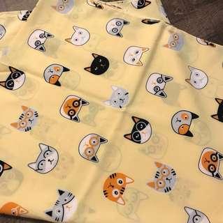 Kitty soft fabric