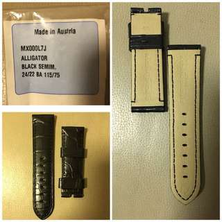 Brand new Panerai Alligator leather strap