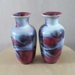 A pair of old vase