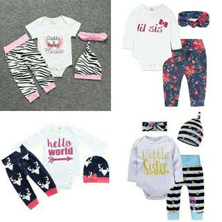 KIDS TALES 3 in 1 ROMPER SET