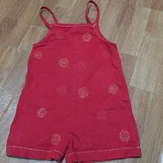 Red romper (free sf mnl only)