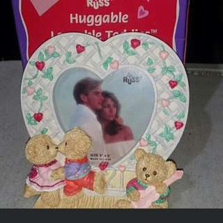 Russ Heart picture frame