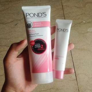 Pond's Facial Wash dan Day cream