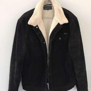Wrangler Black Cord Jacket