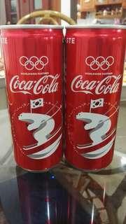 2018 Pyeongchang Winter Olympic Coke Can