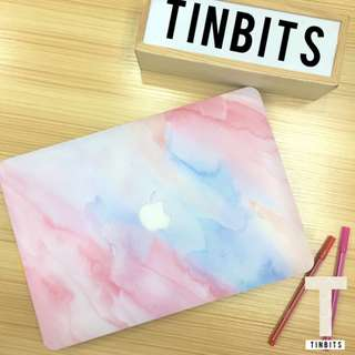 INSTOCK Pastel Pink Marble Macbook Hard Cover Case